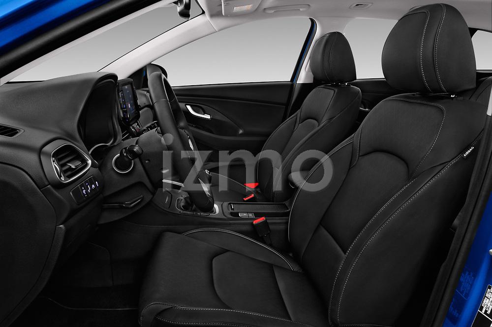 Front seat view of a 2018 Hyundai i30 Sky 5 Door Wagon front seat car photos