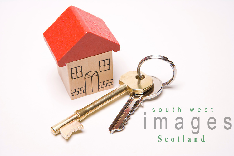 Housing home sweet home first time buyer house keys to new property