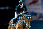Jane Richard Philips of Switzerland rides Pablo de Virton competes at the Hong Kong Jockey Club trophy during the Longines Hong Kong Masters 2015 at the AsiaWorld Expo on 13 February 2015 in Hong Kong, China. Photo by Juan Flor / Power Sport Images