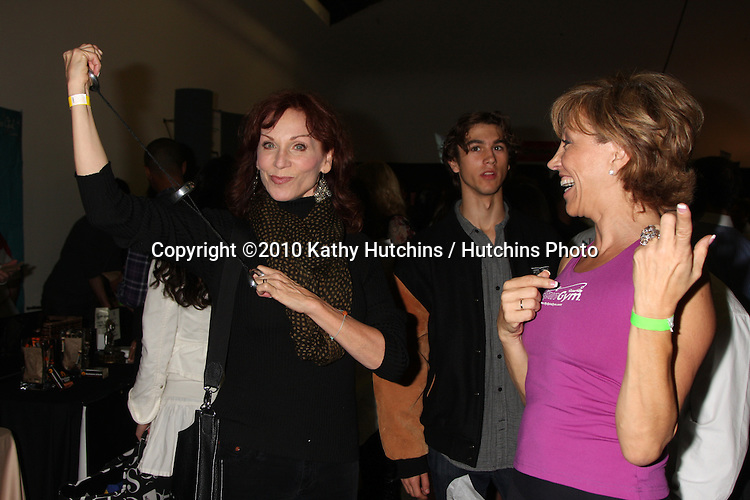 LOS ANGELES - NOV 20:  Marilu Henner, Forbes Riley at the Connected's Celebrity Gift Suite celebrating the 2010 American Music Awards at Ben Kitay Studios on November 20, 2010 in Los Angeles, CA