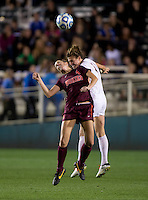 Michaela Hahn, Shannon Mayrose. Florida State defeated Virginia Tech, 3-2,  at the NCAA Women's College Cup semifinals at WakeMed Soccer Park in Cary, NC.
