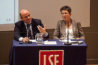 04.10.2012 - The Spanish Minister of the Economy and Competitiveness, Luis de Guindos, in London