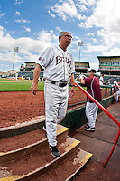 Coach Keith Guttin (2) of the Missouri State Bears during a game vs. the Western Illinois Leathernecks at Hammons Field in Springfield, Missouri;  March 20, 2011.  Photo By David Welker/Four Seam Images