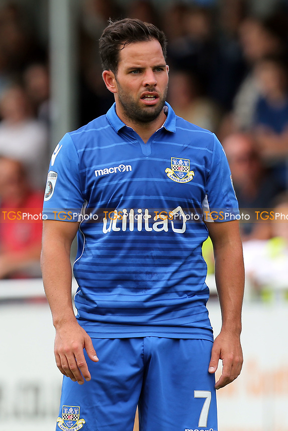 Sam Wood of Eastleigh during Eastleigh vs Dagenham & Redbridge, Vanarama National League Football at the Silverlake Stadium on 12th August 2017