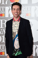 Nick Grimshaw<br /> arrives for the BRIT Awards 2017 held at the O2 Arena, Greenwich, London.<br /> <br /> <br /> &copy;Ash Knotek  D3233  22/02/2017