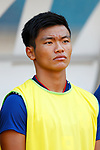 Reo Hatate (JPN), <br /> AUGUST 19, 2018 - Football / Soccer : <br /> Men's Group D match <br /> between Japan 0-1 Vietnam <br /> at Wibawa Mukti Stadium <br /> during the 2018 Jakarta Palembang Asian Games <br /> in Cikarang, Indonesia. <br /> (Photo by Naoki Morita/AFLO SPORT)