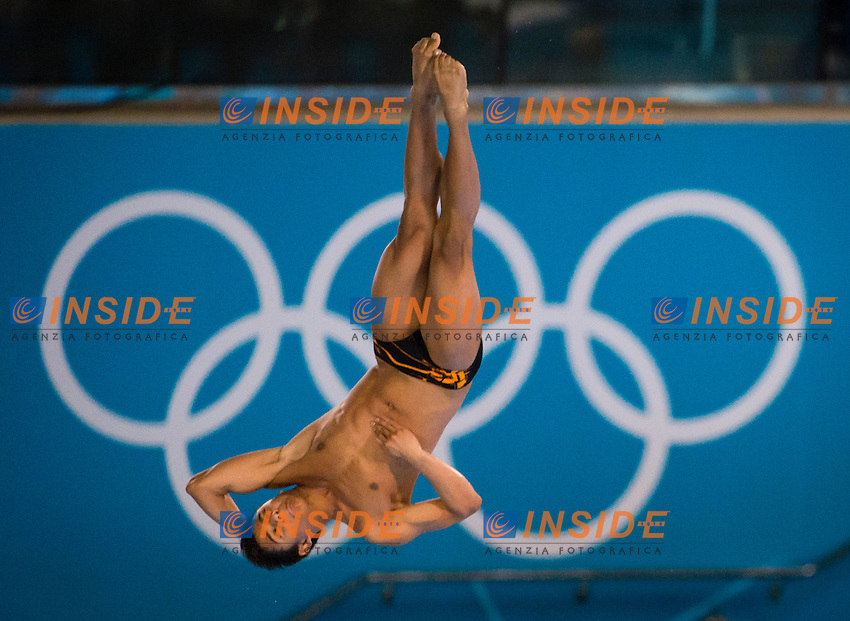 VILLA CASTANEDA Sebastian Colombia.Diving 10 m. platform men preliminary round.London 2012 Olympics - Olimpiadi Londra 2012.day 15 Aug.10.Photo G.Scala/Deepbluemedia.eu/Insidefoto