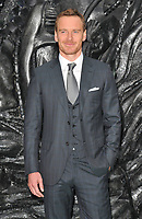 Michael Fassbender at the Alien: Covenant world film premiere, Odeon Leicester Square cinema, Leicester Square, London, England, UK, on Thursday 04 May 2017.<br /> CAP/CAN<br /> &copy;CAN/Capital Pictures /MediaPunch ***NORTH AND SOUTH AMERICAS ONLY***