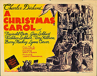 A Christmas Carol (1938)<br /> Lobby card<br /> *Filmstill - Editorial Use Only*<br /> CAP/KFS<br /> Image supplied by Capital Pictures