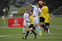 Team Wellington&rsquo;s Owen Parker-Price in action during the National Youth League - Phoenix Youth v Team Wellington Youth at Petone Memorial Park, Lower Hutt, New Zealand on Saturday 29 October 2016.<br /> Photo by Masanori Udagawa. <br /> www.photowellington.photoshelter.com.