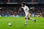 Marcelo Vieira of Real Madrid and during La Liga match between Real Madrid and CD Leganes at Santiago Bernabeu Stadium in Madrid, Spain. October 30, 2019. (ALTERPHOTOS/A. Perez Meca)