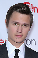 30 March 2017 - Las Vegas, NV -  Ansel Elgort. 2017 CinemaCon Big Screen Achievement Awards at Caesar's Palace.  Photo Credit: MJT/AdMedia