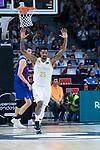 Jordan Mickey celebrates a 3 points shoot during Real Madrid vs FC Barcelona final of Supercopa Endesa. September 22, 2019. (ALTERPHOTOS/Francis González)