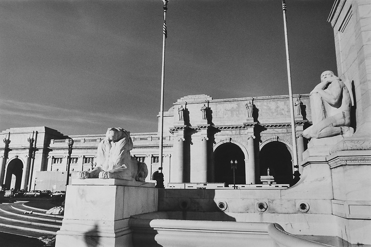 Exterior of Washington Union Station. (Photo by CQ Roll Call via Getty Images)