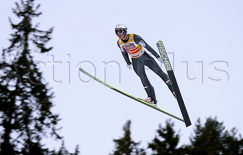 13.12.2013 Titisee-Neustadt Germany. Mens World Cup Ski-Jumping Training and Qualification.  Gregor Schlierenzauer (AUT)
