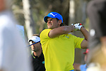 Johan Edfors (SWE) tees of from the 18th tee during the Final Day Sunday of the Open de Andalucia de Golf at Parador Golf Club Malaga 27th March 2011. (Photo Eoin Clarke/Golffile 2011)