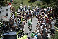 Green Jersey Peter Sagan (SVK/Tinkoff) going up<br /> <br /> Stage 18 (ITT) - Sallanches › Megève (17km)<br /> 103rd Tour de France 2016