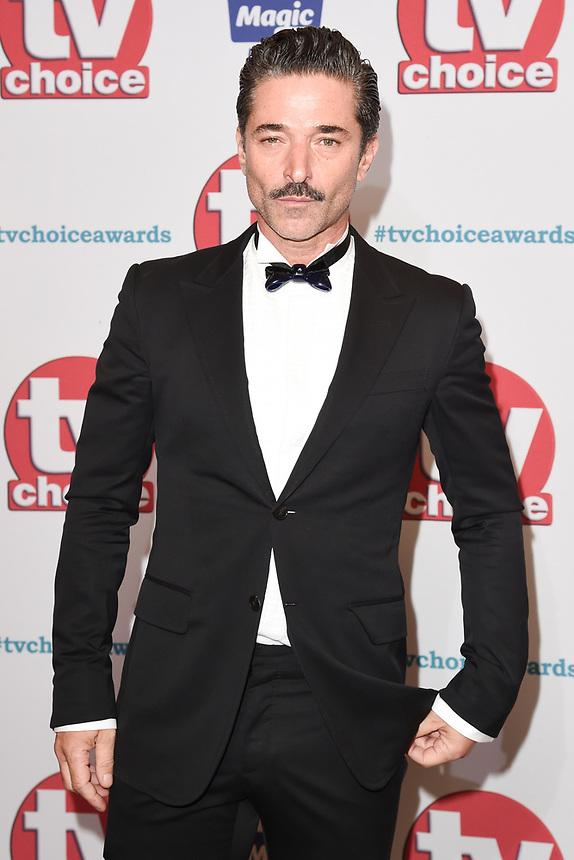 Jake Canuso<br /> arriving for the TV Choice Awards 2017 at The Dorchester Hotel, London. <br /> <br /> <br /> ©Ash Knotek  D3303  04/09/2017