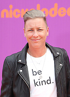 LOS ANGELES, CA July 13- Abby Wambach, At Nickelodeon Kids' Choice Sports Awards 2017 at The Pauley Pavilion, California on July 13, 2017. Credit: Faye Sadou/MediaPunch