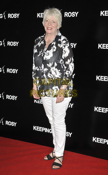 LONDON, ENGLAND - JUNE 26: Alison Steadman attends the &quot;Keeping Rosy&quot; UK film premiere, Hackney Picturehouse, Mare St., on Thursday June 26, 2014 in London, England, UK.<br /> CAP/CAN<br /> &copy;Can Nguyen/Capital Pictures