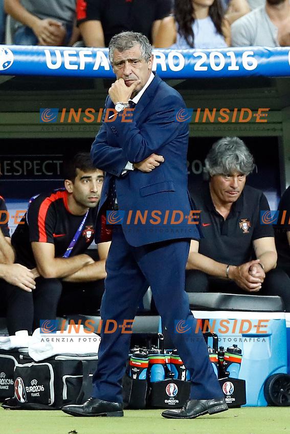 Fernando Santos<br /> Paris 10-07-2016 Stade de France Football Euro2016 Portugal - France / Portogallo - Francia Finale/Finals<br /> Foto Matteo Ciambelli / Insidefoto