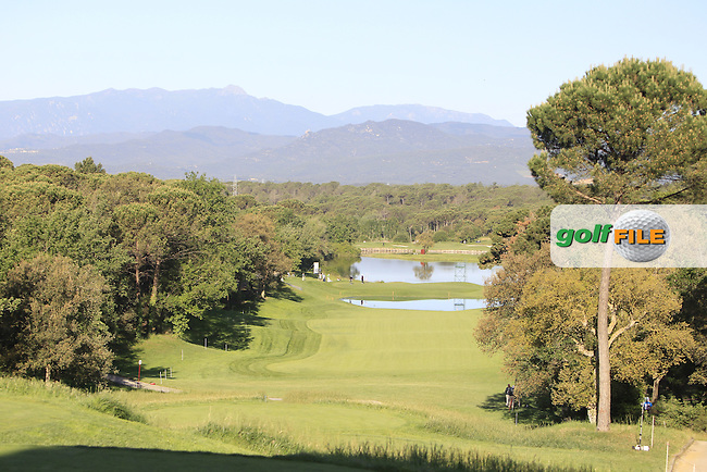 View from the 13th tee during Thursday's Round 1 of The Open De Espana at The PGA Catalunya Resort. 15th May 2014.<br /> Picture:  Thos Caffrey / www.golffile.ie