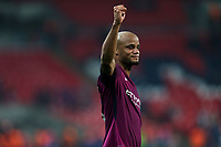 Vincent Kompany of Manchester City after Tottenham Hotspur vs Manchester City, Premier League Football at Wembley Stadium on 14th April 2018