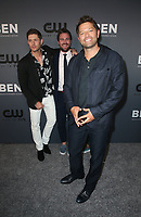 BEVERLY HILLS, CA - AUGUST 4: Jensen Ackles, Stephen Amell, Jared Padalecki, Misha Collins, at The CW's Summer TCA All-Star Party at The Beverly Hilton Hotel in Beverly Hills, California on August 4, 2019. <br /> CAP/MPI/FS<br /> ©FS/MPI/Capital Pictures