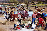 Horseback riding with the Marin brothers through rural Guanajuato, Mexico to San Martín de Terrenos, where the Blessing of the Horses, an annual pilgrimage of tens of thousands of men and women arrive on horseback or bike takes place..