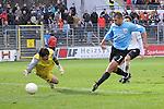Sandhausen 05.12.2009, 3. Liga SV Sandhausen - FC Ingolstadt 04, Tor zum 1:2 f&uuml;r Ingolstadts Ersin Demir gegen Sandhausens Thorsten Kirschbaum<br /> <br /> Foto &copy; Rhein-Neckar-Picture *** Foto ist honorarpflichtig! *** Auf Anfrage in h&ouml;herer Qualit&auml;t/Aufl&ouml;sung. Ver&ouml;ffentlichung ausschliesslich f&uuml;r journalistisch-publizistische Zwecke. Belegexemplar erbeten.