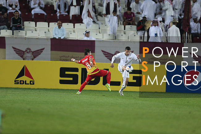 El Jaish (QAT) vs Foolad (IRN) during the 2014 AFC Champions League Match Day 1 Group B match on 25 February 2014 at Abdullah bin Khalifa Stadium, Doha, Qatar. Photo by Stringer / Lagardere Sports