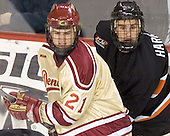 J.D. Corbin, Will Harvey - The Princeton University Tigers defeated the University of Denver Pioneers 4-1 in their first game of the Denver Cup on Friday, December 30, 2005 at Magness Arena in Denver, CO.