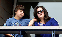 September 2, 2012: Rosie O'Donnell watches the action during Day 7 of the 2012 U.S. Open Tennis Championships at the USTA Billie Jean King National Tennis Center in Flushing, Queens, New York, USA. © mpi105/MediaPunch Inc. /NortePhoto.com<br />