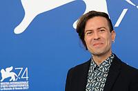 Italian director Sebastiano Riso attends a photo call for his movie 'Una Famiglia' at the 74th Venice Film Festival, Venice Lido, September 4, 2017. <br /> UPDATE IMAGES PRESS/Marilla Sicilia<br /> <br /> *** ONLY FRANCE AND GERMANY SALES ***