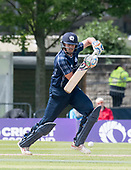 Cricket Scotland - Scotland V Namibia World Cricket League One-Day match today (Sun) at Grange CC - Calum MacLeod - this match is the first of two WCL games this week against Namibia on the same ground - picture by Donald MacLeod - 11.06.2017 - 07702 319 738 - clanmacleod@btinternet.com - www.donald-macleod.com