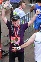 Chris Evans<br /> at the finish line on The Mall at the 2017 London Marathon, London. <br /> <br /> <br /> ©Ash Knotek  D3254  23/04/2017