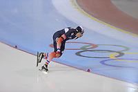 SCHAATSEN: SALT LAKE CITY: Utah Olympic Oval, 15-11-2013, Essent ISU World Cup, 1500m, Benjamin Macé (FRA), ©foto Martin de Jong