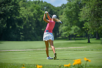Anna Nordqvist (SWE) watches her tee shot on 11 during round 1 of the 2018 KPMG Women's PGA Championship, Kemper Lakes Golf Club, at Kildeer, Illinois, USA. 6/28/2018.<br /> Picture: Golffile | Ken Murray<br /> <br /> All photo usage must carry mandatory copyright credit (&copy; Golffile | Ken Murray)