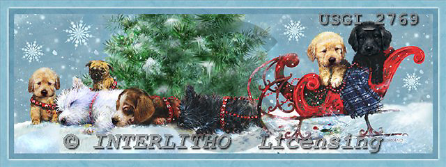GIORDANO, CHRISTMAS ANIMALS, WEIHNACHTEN TIERE, NAVIDAD ANIMALES, paintings+++++,USGI2769,#XA#