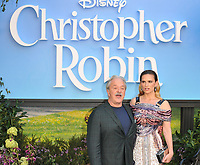 Jim Cummings and Hayley Atwell at the &quot;Christopher Robin&quot; European film premiere, BFI Southbank, Belvedere Road, London, England, UK, on Sunday 05 August 2018.<br /> CAP/CAN<br /> &copy;CAN/Capital Pictures