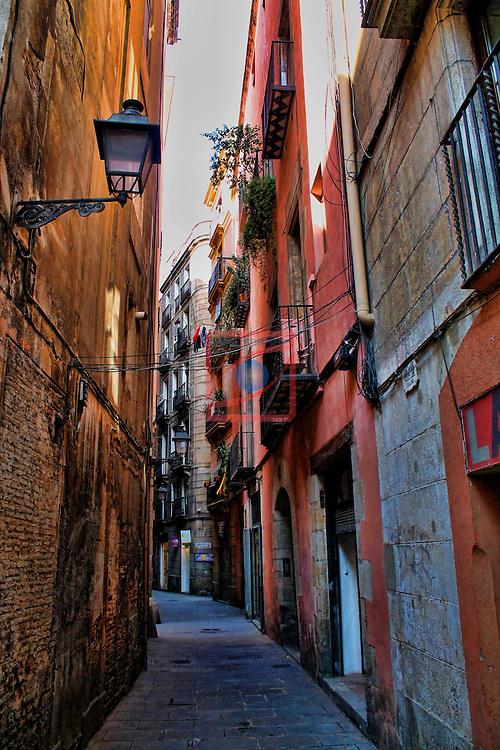 Barcelona.<br /> Barri Gotic - Ciutat Vella.