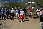 Y.E. Yang (S.KOR) in trouble on the 10th hole during Day 3 of the Accenture Match Play Championship from The Ritz-Carlton Golf Club, Dove Mountain, Friday 25th February 2011. (Photo Eoin Clarke/golffile.ie)