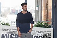 Actor Hugo Silva poses during `Mi gran noche´ film presentation in Madrid, Spain. February 20, 2015. (ALTERPHOTOS/Victor Blanco) /NORTEphoto.com