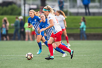 Boston, MA - Friday July 07, 2017: Julie Ertz during a regular season National Women's Soccer League (NWSL) match between the Boston Breakers and the Chicago Red Stars at Jordan Field.