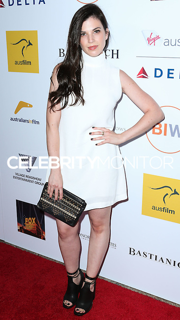 SANTA MONICA, CA, USA - OCTOBER 26: Tanya Zucker arrives at the 3rd Annual Australians in Film Awards Benefit Gala held at the Starlight Ballroom at Fairmont Miramar Hotel & Bungalows on October 26, 2014 in Santa Monica, California, United States. (Photo by Xavier Collin/Celebrity Monitor)