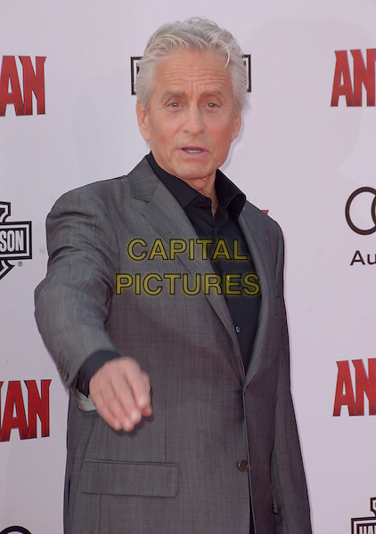 29 June 2015 - Hollywood, California - Michael Douglas. Arrivals for the world premiere of Marvel's &quot;Ant-Man&quot; held at The Dolby Theater. <br /> CAP/ADM/BT<br /> &copy;BT/ADM/Capital Pictures