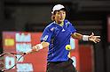 Go Soeda (JPN), OCTOBER 4, 2011 - Tennis : Men's Doubles at Rakuten Japan Open Tennis Championships in Tokyo, Japan. (Photo by Atsushi Tomura/AFLO SPORT) [1035]