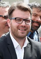 Presentazione dei candidati al consiglio comunale di Napoli del movimento cinque stelle<br /> Salvatore De Curtis