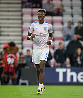 Tammy Abraham (Swansea City (on loan from Chelsea) of England U21 ahead of the FIFA World Cup qualifying match between England and Slovakia at Wembley Stadium, London, England on 4 September 2017. Photo by PRiME Media Images.
