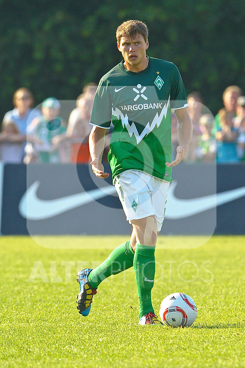 13. 07.2010, An der Muehle, Norderney, GER,  SV Werder Bremen vs KFC Uerdingen - Friendly MAtch  1. FBL 2010  im Bild Sebastian Boenisch ( Werder  #02 )    Foto © nph / Kokenge